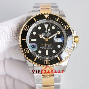 Rolex Deepsea Sea Dweller 126603 18K Siyah Kadran Super Clone ETA