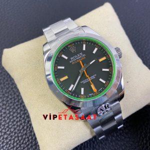 Rolex Milgauss 116400GV Çelik Kasa Yeşil Kadran Super Clone ETA